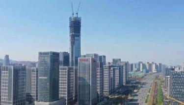 创世电子贝博ios下载系列产品助力济南汉峪金谷建设
