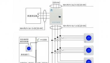 CS-FK万博官方网站manbetx探测器和控制箱接线与安装方法