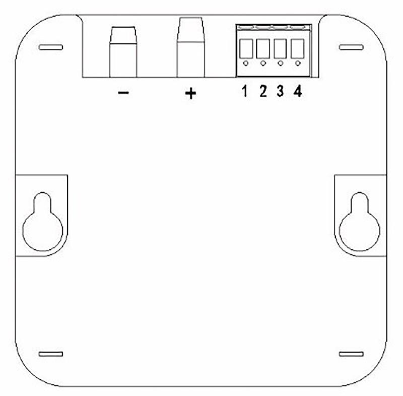 压差控制器(负压救护车专用)背面图