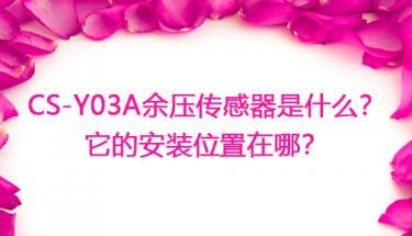 CS-Y03A万博官方网站manbetx传感器是什么?万博官方网站manbetx传感器安装位置