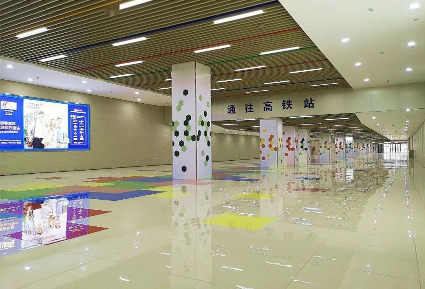 客运中心交通换乘广场万博官方网站manbetx项目