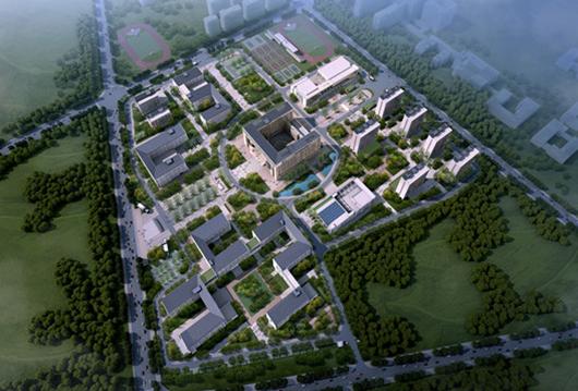 安徽合肥技师学院\P1#主教学楼CO